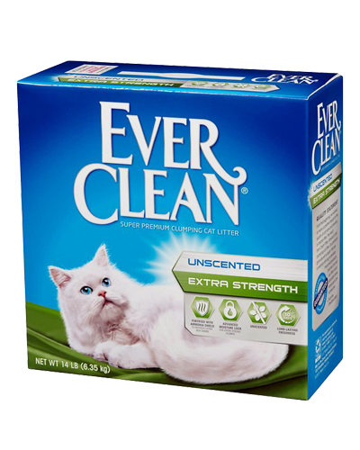 Picture of Ever Clean Extra Strength Unscented - 25 lb.