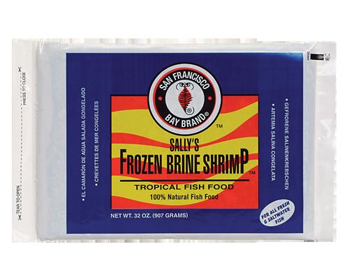 Picture of San Francisco Bay Brand Frozen Brine Shrimp Flat Pack - 32 oz.