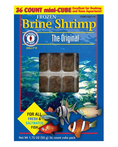 Picture of San Francisco Bay Brand Frozen Baby Brine Shrimp - 1.75 oz.