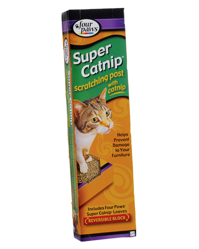 "Picture of Four Paws Super Catnip Scratching Post - 19"" x 5"""