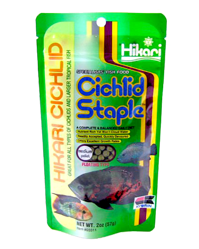 Picture of Hikari Cichlid Staple Medium Pellet - 2 oz.