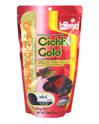 Picture of Hikari Cichlid Gold Mini Pellet - 8.8 oz.