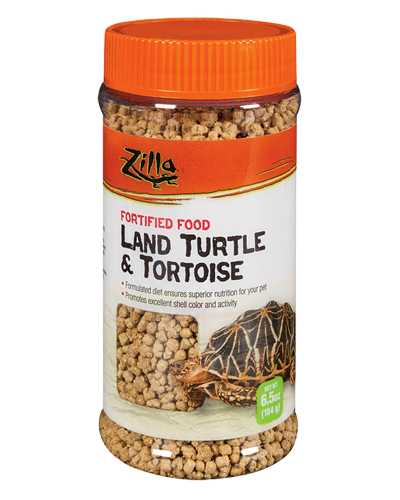 Picture of Zilla Land Turtle and Tortoise Extruded Food Pellets - 6.5 oz.