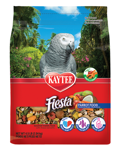 Picture of Kaytee Fiesta Parrot Food - 4.5 lb.