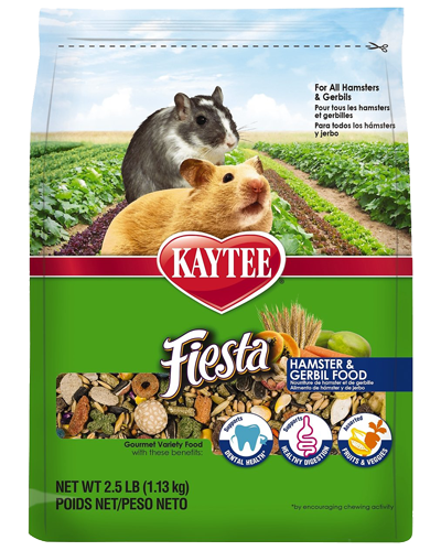 Picture of Kaytee Fiesta Hamster and Gerbil Food - 2.5 lb.
