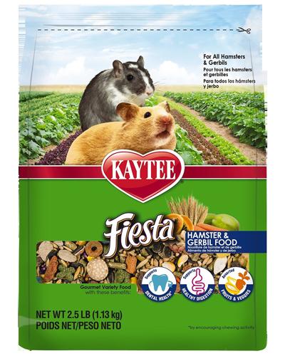Picture of Kaytee Fiesta Hamster and Gerbil Food - 2.5 lb.