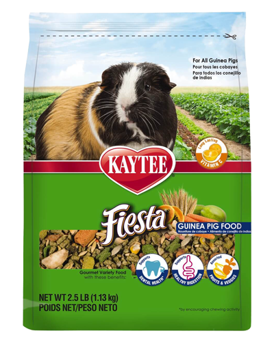Picture of Kaytee Fiesta Guinea Pig Food - 2.5 lb.