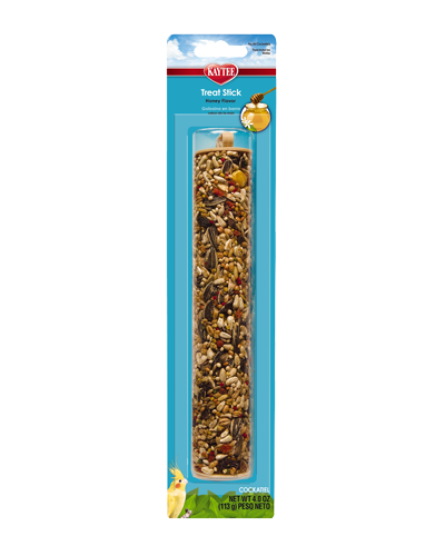 Picture of Kaytee Forti-Diet Pro Health Cockatiel Honey Treat Stick - 4 oz