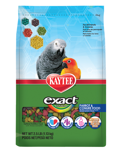 Picture of Kaytee Exact Rainbow Parrot and Conure Food - 2.5 lb.