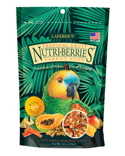 Picture of Lafeber's Nutri-Berries Tropical Fruit for Parrots - 10 oz