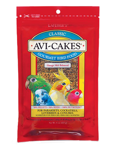 Picture of Lafeber's Classic Avi-cakes for Small Birds - 8 oz.