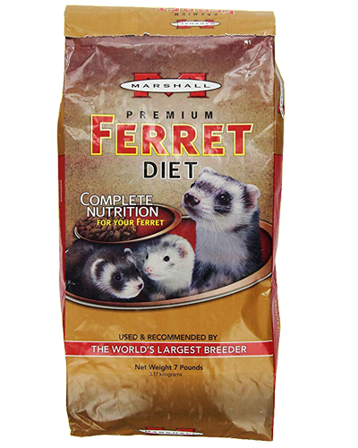 Picture of Marshall Premium Ferret Diet - 7 lb.