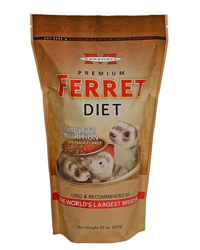 Picture of Marshall Premium Ferret Diet - 22 oz.