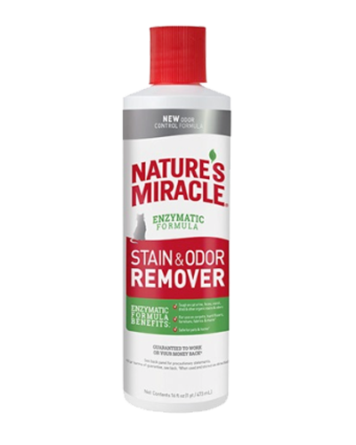 Picture of Nature's Miracle Stain and Odor Remover Pourable - 16 oz