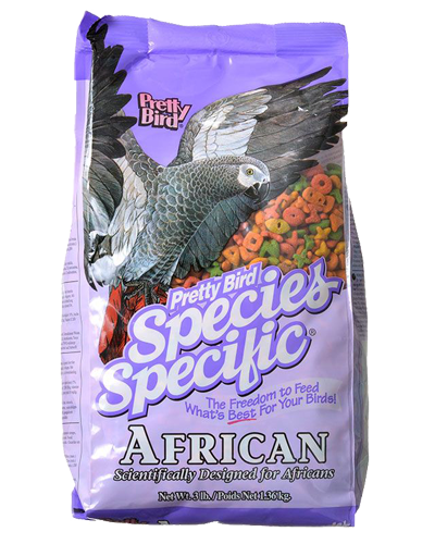Picture of Pretty Bird Species Specific African Grey Food - 3 lb.