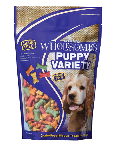 Picture of SPORTMiX Wholesomes Puppy Variety Biscuit Treats - 4 lb.
