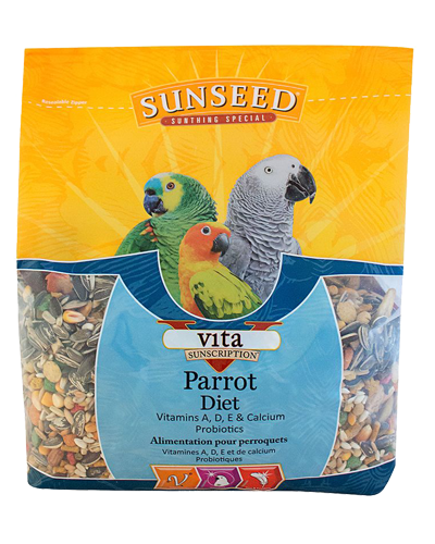 Picture of Sunseed Vita Sunscription Parrot Diet - 3.5 lb.