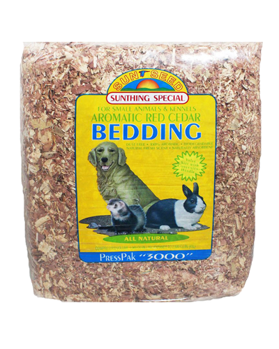 Picture of Sunseed Aromatic Red Cedar Bedding - 41 L