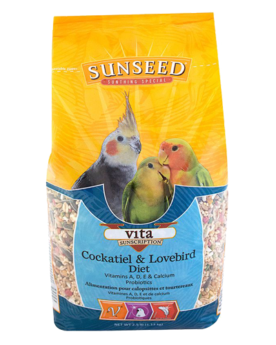 Picture of Sunseed Vita Sunscription Cockatiel & Lovebird - 2.5 lb.