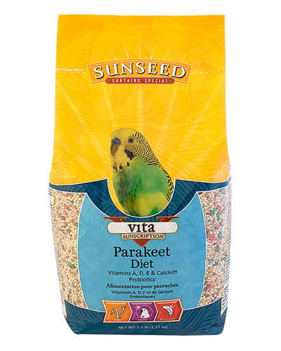 Picture of Sunseed Vita Sunscription Parakeet Diet - 2.5 lb.