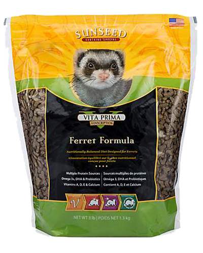Picture of Sunseed Vita Prima Sunscription Ferret Formula - 3 lb.