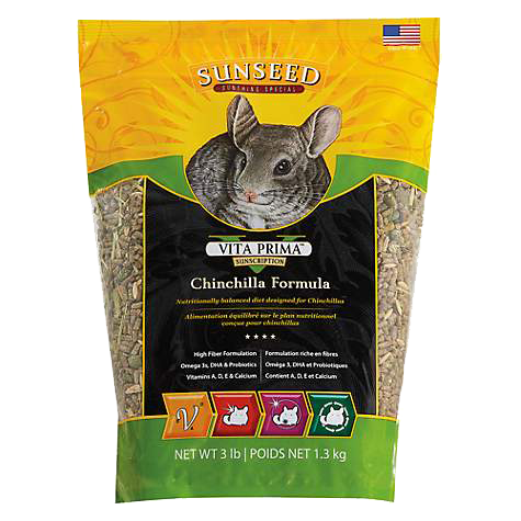 Picture of Sunseed Vita Prima Sunscription Chinchilla Formula - 3 lb.