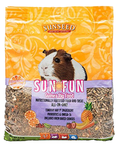 Picture of Sunseed Sun-Fun Guinea Pig Food - 3.5 lb.