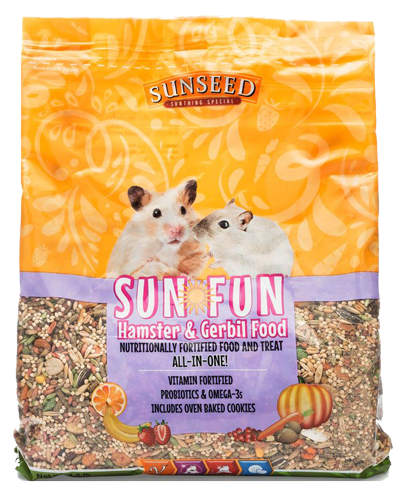 Picture of Sunseed Sun-Fun Hamster & Gerbil Food - 3.5 lb.