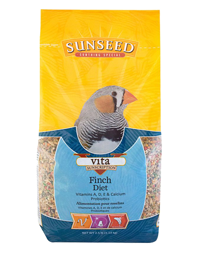 Picture of Sunseed Vita Sunscription Finch Diet - 2.5 lb.