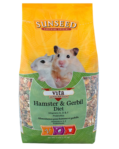 Picture of Sunseed Vita Sunscription Hamster & Gerbil Diet - 2.5 lb.