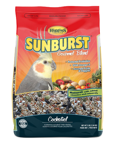 Picture of Higgins Sunburst Gourmet Blend Cockatiel - 3 lb.