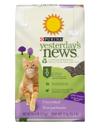 Picture of Purina Yesterday's News Softer Texture Unscented Litter - 26.4 lb.