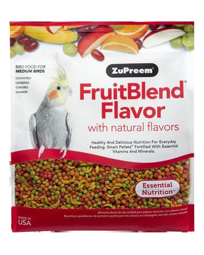 Picture of Zupreem FruitBlend Flavor for Medium Birds - 1 lb.