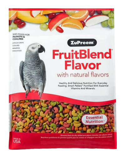 Picture of Zupreem FruitBlend Flavor for Parrots and Conures - 1 lb.