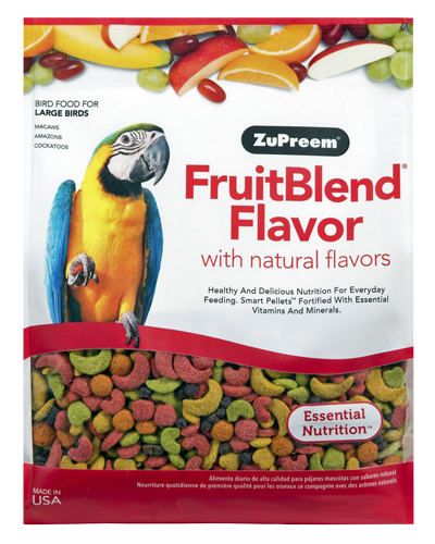 Picture of Zupreem FruitBlend Flavor for Large Birds - 3.5 lb.