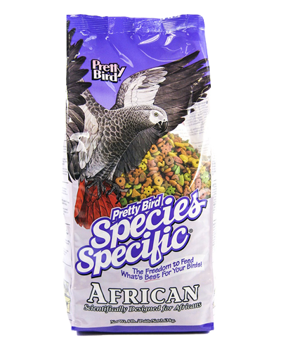 Picture of Pretty Bird Species Specific African Grey Food - 8 lb.