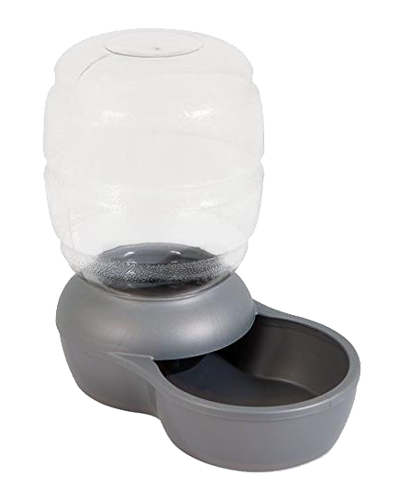 Picture of Petmate Replendish Waterer with Microban 1 Gallon - Pearl