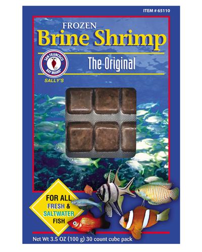 Picture of San Francisco Bay Brand Frozen Brine Shrimp - 3.5 oz.