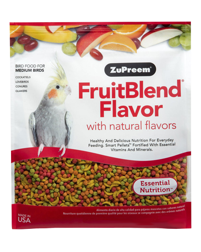 Picture of Zupreem FruitBlend Flavor for Medium Birds - 2 lb.