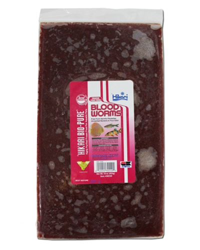 Picture of Hikari Bio-Pure Frozen Blood Worms - 16 oz.