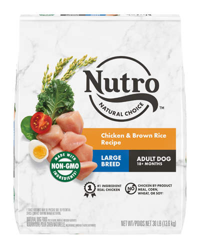 Picture of Nutro Wholesome Essentials Large Breed Farm-Raised Chicken, Brown Rice, & Sweet Potato - 30 lbs.