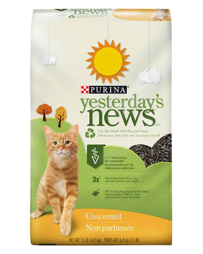 Picture of Purina Yesterdays News Original Formula Cat Litter - 15 lb.