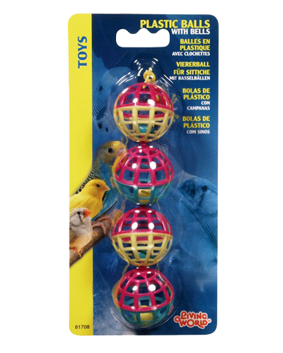 Picture of Living World Classic Plastic Balls with Bells
