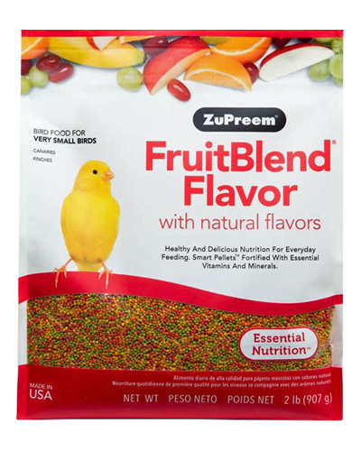 Picture of Zupreem Fruitblend Flavor for Very Small Birds - 2 lb.