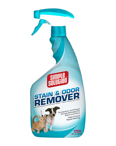 Picture of Bramton Simple Solution Pet Stain & Odor Remover Spray - 32 oz