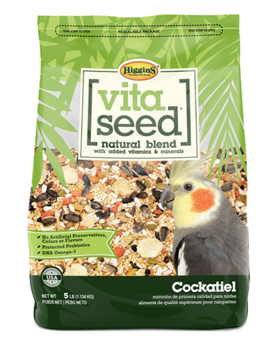 Picture of Higgins Vita Seed for Cockatiels - 5 lb.