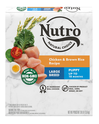 Picture of Nutro Wholesome Essentials Puppy Large Breed Farm-Raised Chicken, Brown Rice, & Sweet Potato - 30 lbs.