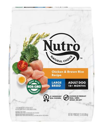 Picture of Nutro Wholesome Essentials Large Breed Farm-Raised Chicken, Brown Rice, & Sweet Potato - 15 lbs.