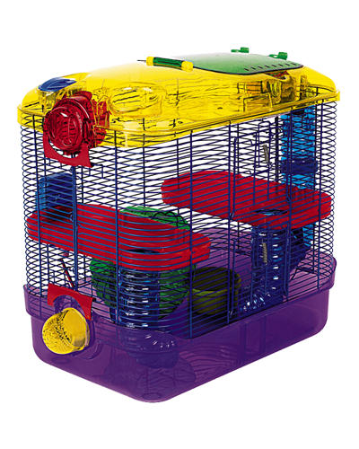 "Picture of Kaytee CritterTrail 2-Level Habitat - 11.5"" x 20"" x 16"""