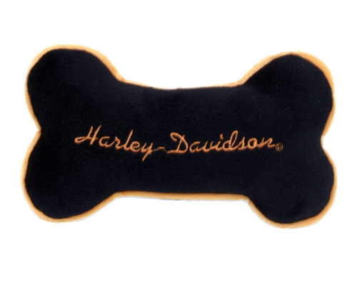 Picture of Coastal Pet Harley-Davidson Squeak Plush Bone